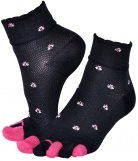 Chaussettes Doigts Flower