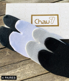Chaussettes tabi tong courte Homme - 4 paire